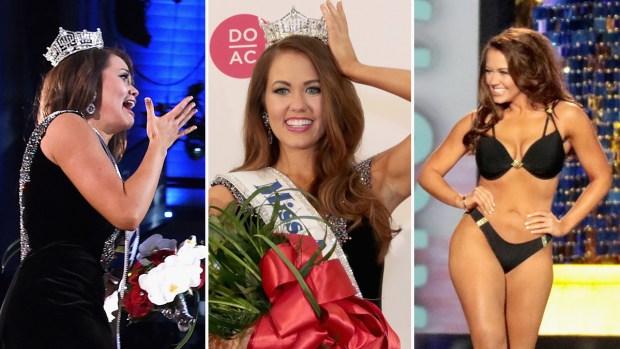 Coronan a Miss América 2018