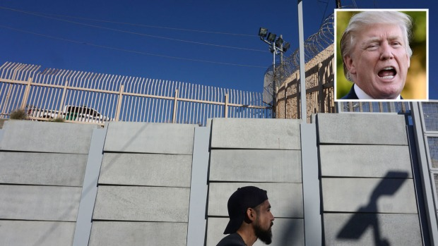 Análisis: los dichos de Trump sobre el muro vs los hechos