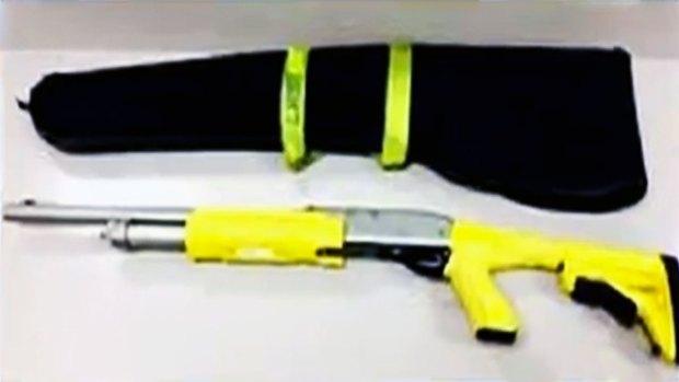 Video: Operativo para recuperar arma robada