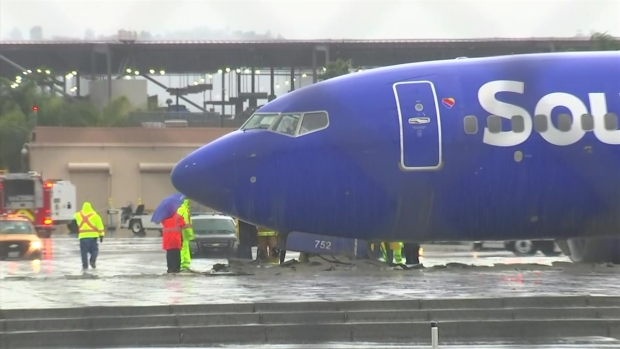 [TLMD - LA] Pánico a bordo de un avión tras salirse de la pista