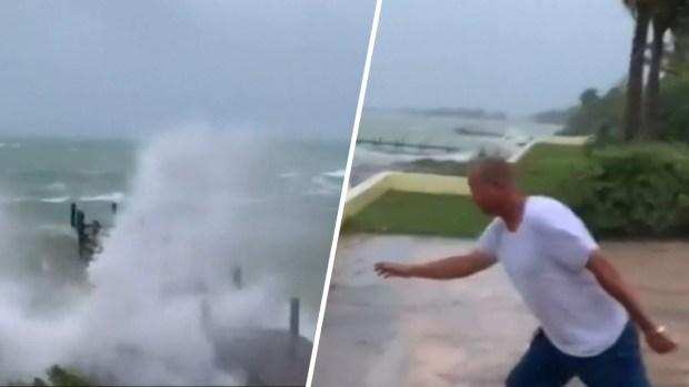 [TLMD - NATL] En video: Bahamas empieza a sentir la furia de Dorian