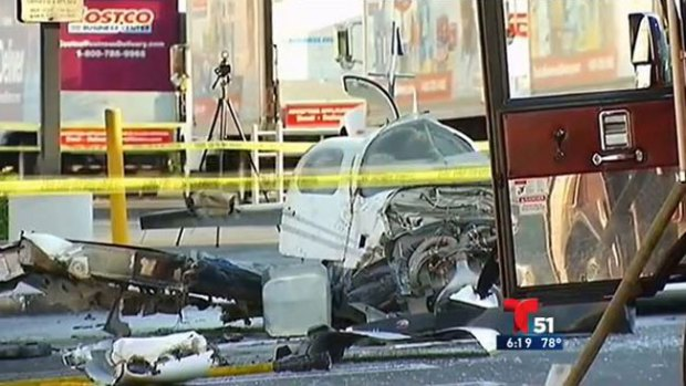 Video: Aterrizaje mortal en centro comercial
