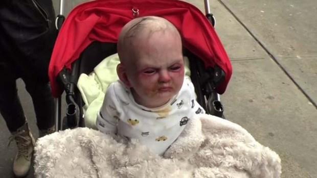 Video: Bebé diabólico aterroriza a Nueva York