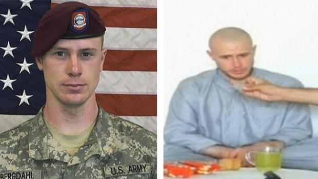 Video: El soldado Bergdahl, de regreso en EEUU