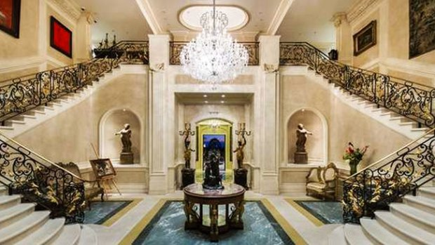"""Fotos: """"Palazzo di amore"""" es una de las casas más caras de EE.UU."""