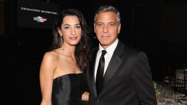 Video: Clooney se relaja antes de su boda
