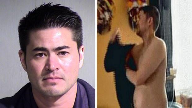 "Video: Arrestan a ""hombre embarazado"""