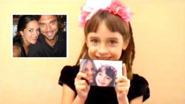 Video: Hija de Mónica Spear quiere ir al cielo