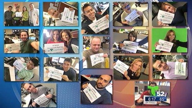 "Video: Miles unidos gracias a un ""selfie"""