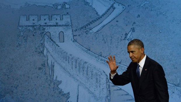 Video: El gesto de Obama que enfurece a chinos