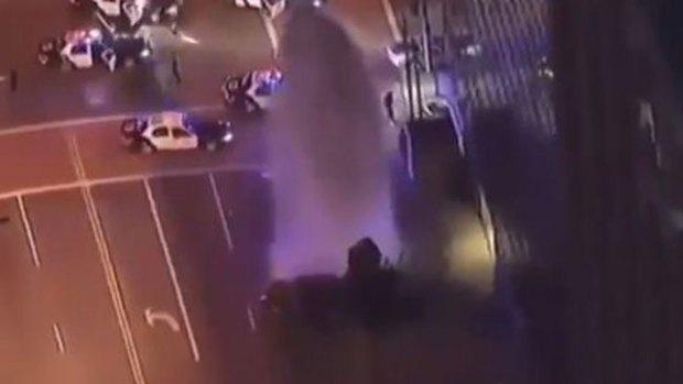 Video: Espectacular persecución en LA