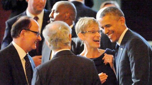 Video: Obama y Hollywood a lo grande