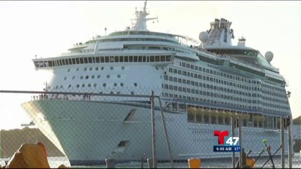 Video: Royal Caribbean: Más de 600 enfermos