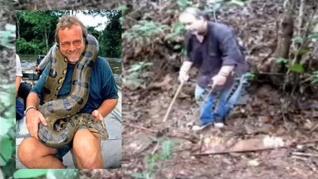 Video: Llevó siete serpientes en un avión