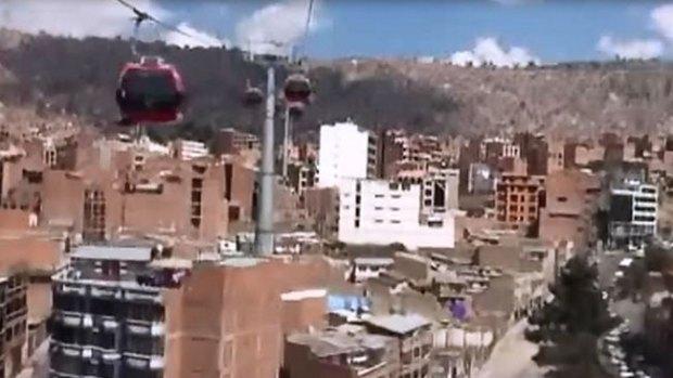 Video: Bolivia: el teleférico más alto del mundo