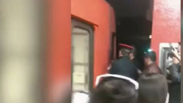 Video: Conductor borracho aterroriza pasajeros