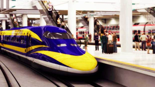 Fotos: Impacta el proyecto de un tren bala en California