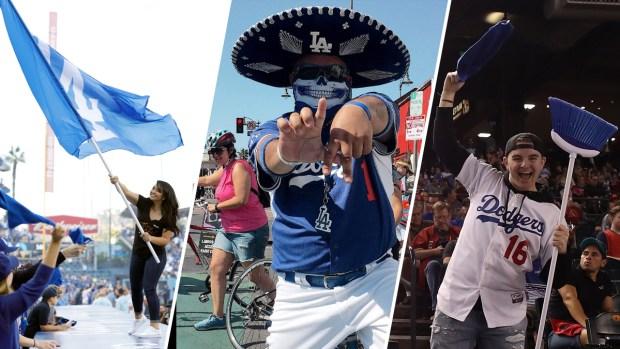 Fanáticos Dodgers inspirados por alcanzar el título de Serie Mundial