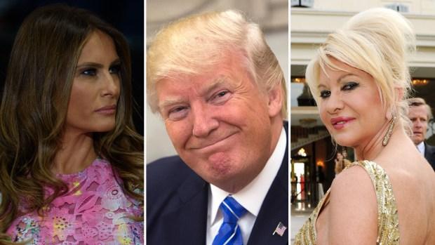 Lo que se dijeron la exesposa de Trump y la primera dama