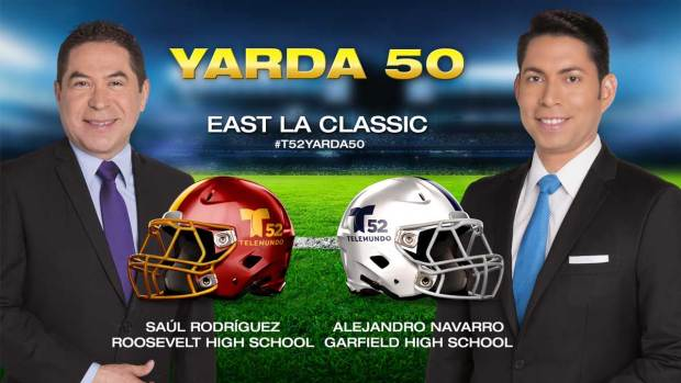 "Video: T52 y ""Yarda 50"" en las escuelas Roosevelt y Garfield"