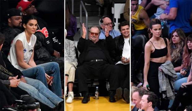 Famosos que son fanáticos de los Lakers de Los Ángeles