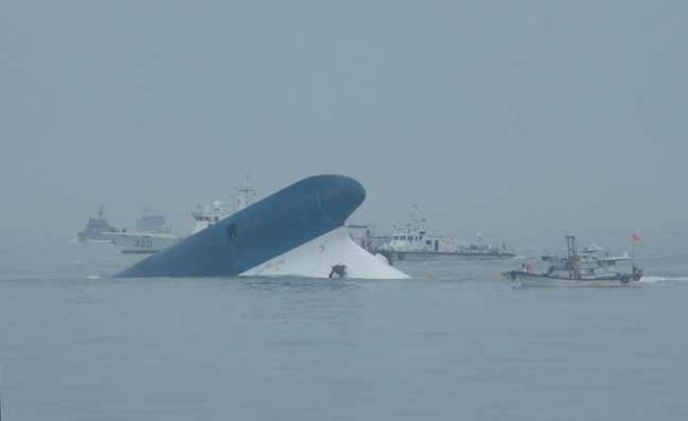 Video: Sewol: video capta al capitán huyendo
