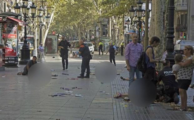 Ataque en Barcelona: abatieron a cuatro terroristas en Cambrils