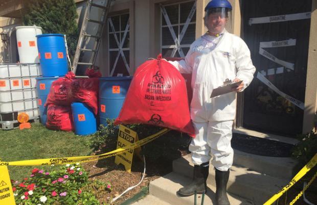 """Video: Casa de """"ébola"""" causa controversia"""