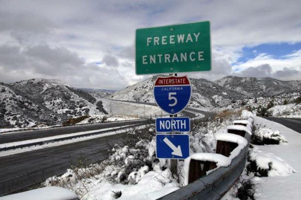Fotos: Segunda tormenta de otoño trajo lluvia y nieve