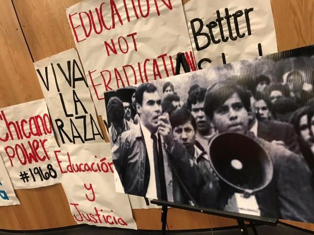 Conmemoran 50 años de la huelga de estudiantes chicanos
