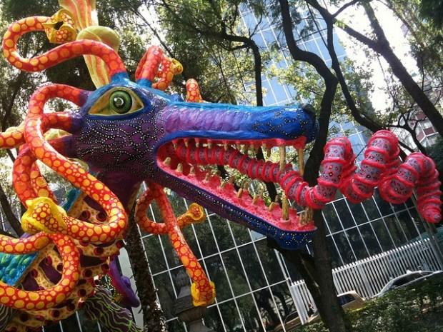 Alebrijes, arte mexicano salido de un sueño
