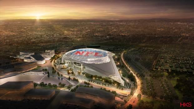 El desarrollo de estadio NFL en Inglewood