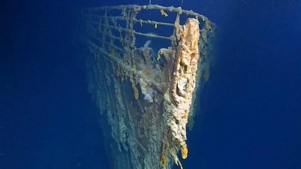 Exploradores revelan nuevas imágenes de los restos del