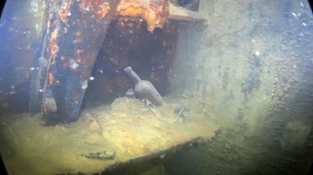Muestran primeras imágenes de barco hundido en 1846