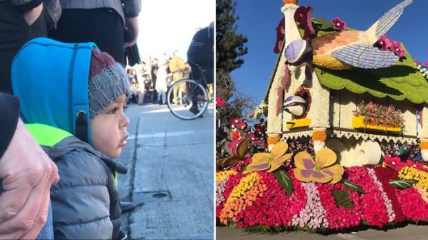 [Galeria Español]¡Feliz Año Nuevo! El Desfile de las Rosas brindó muchas sonrisas