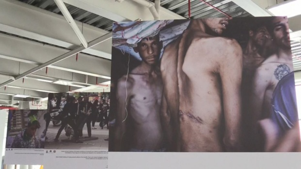 Cruda exposición de fotos muestra la crisis en Venezuela