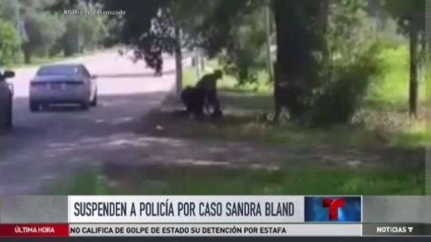 Suspenden a policía por caso de Sandra Bland