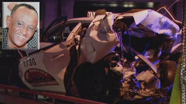 Brutal choque: se matan conductor y taxista en Chicago