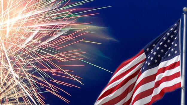 Dónde celebrar con fuegos artificiales el 4 de julio