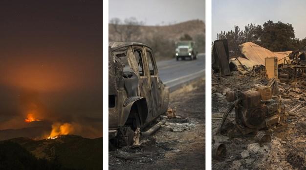Incendios dejan miles de acres en cenizas