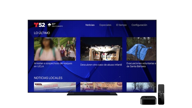 Descarga Telemundo 52 en tu Apple TV