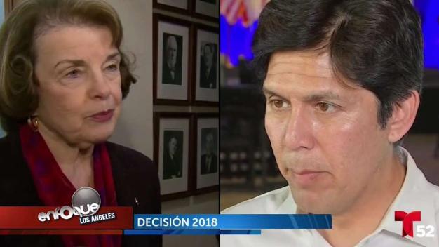 Dianne Feinstein busca la reelección en elecciones del 6 de noviembre