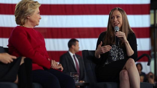 Chelsea Clinton no descarta aspirar a la presidencia