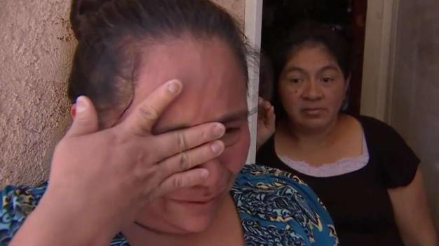 Madre e hijos reunificados después de casi dos meses