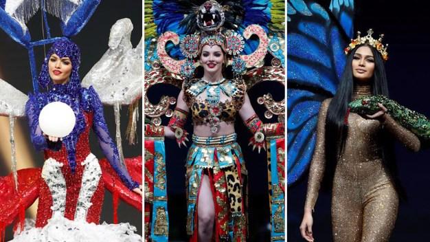 Miss Universo 2018: extravagancias y caída en desfile de trajes típicos