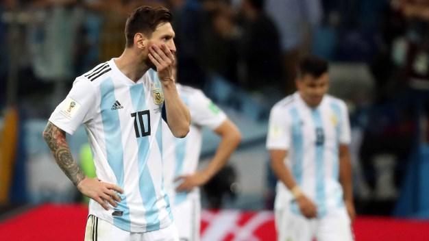 Croacia golea a Argentina y lo deja complicado