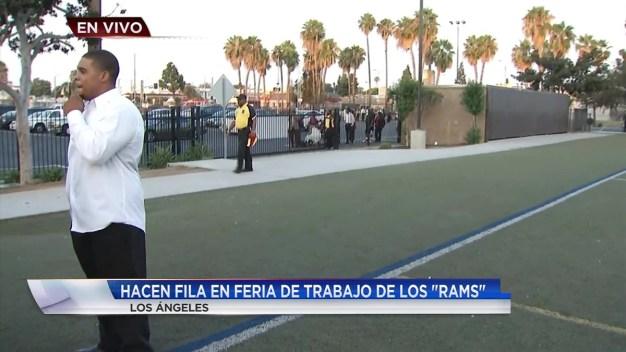 Rams de L.A. tiene miles de trabajos disponibles