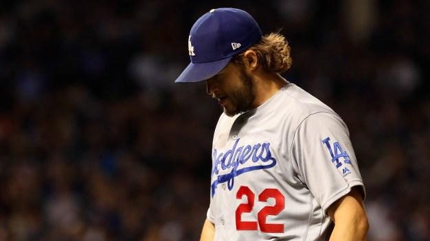 Los Dodgers son vencidos por los Cubs en sexto partido