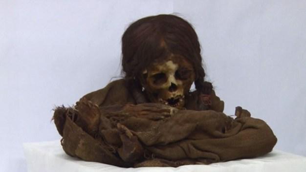 """""""Ñusta"""", la momia de una niña que causa conmoción"""