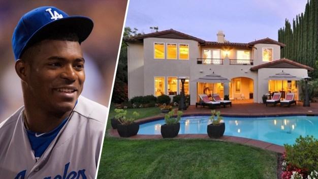 Roban la casa del jugador de los Dodgers Yasel Puig